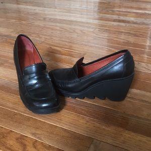 Donald J Pliner Leather Wedges